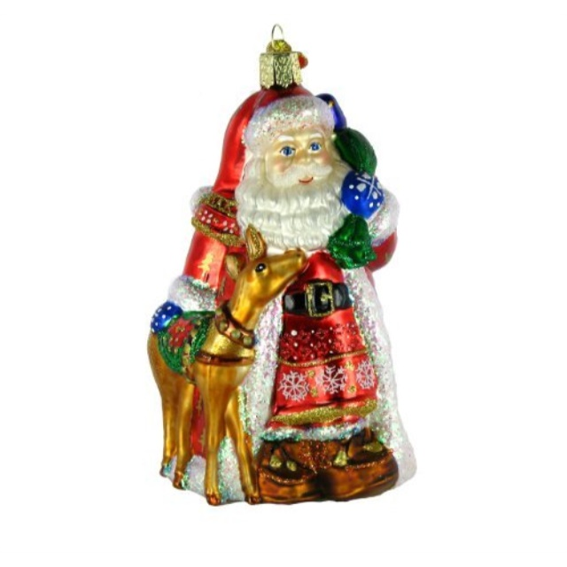 MERCK~COLLIE DOG ORNAMENT~CHOOSE COLOR~BLOWN GLASS~OLD WORLD CHRISTMAS~NWT