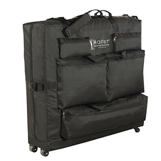 Master Massage Universal Wheeled Massage Table Carry Case, 1