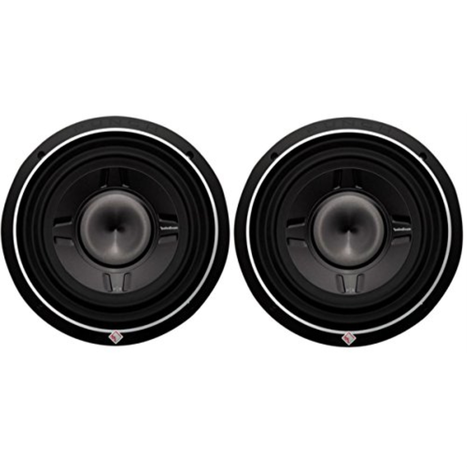 "ROCKFORD FOSGATE P3SD2-12 12/"" 1600W Car Shallow//Slim Audio Subwoofers Subs 2"