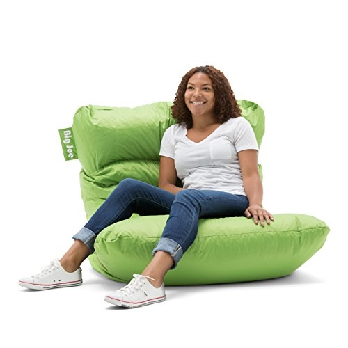 Surprising Big Joe Roma Bean Bag Chair Spicy Lime Pabps2019 Chair Design Images Pabps2019Com
